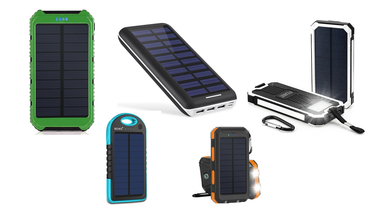 10 Best Solar Power Bank Review 2018 Portable Extended Support Battery Via The Mini Usb Port On Charging Circuit Or Iknowthebest